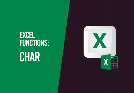 Char Function Microsoft Excel
