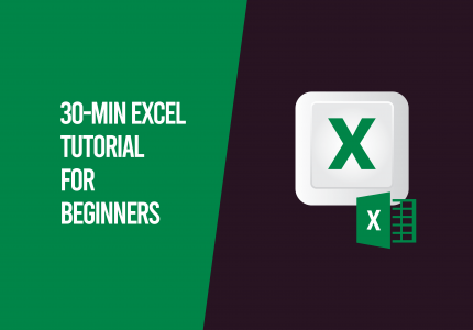 30 minute excel tutorial for beginners