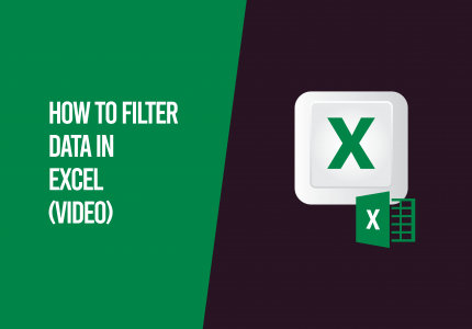 filter data in excel