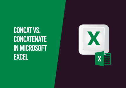 concat vs. concatenate