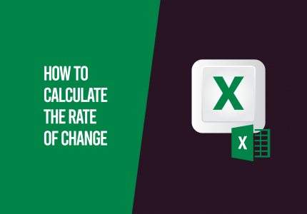 rate of change excel