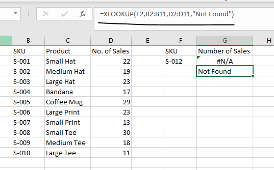 xlookup vs. index & match