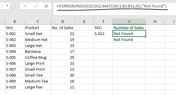 xlookup vs. index match